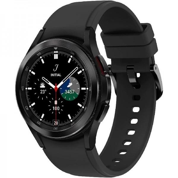 Samsung Galaxy Watch4 Classic, Runde LTE, Wear OS, Fitnessuhr, 42 mm, Black