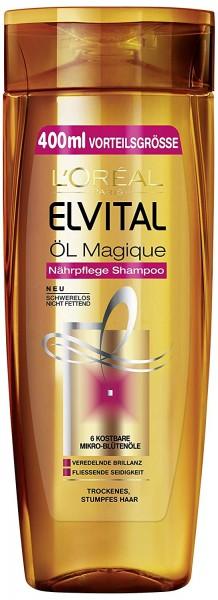 L'Oréal Paris Elvital Shampoo Öl Magique, 400 ml