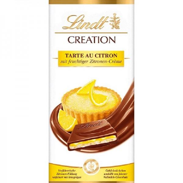 Lindt Creation Tarte au Citron Tafel, 1er Pack (1 x 150 g)