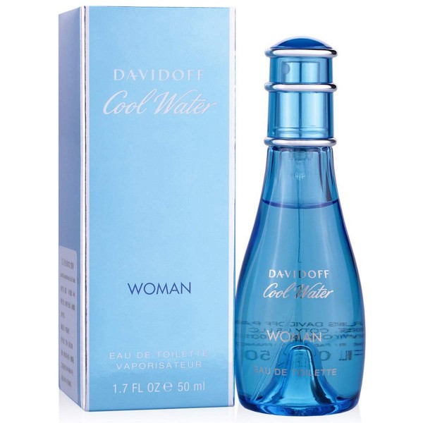 Davidoff Cool Water Woman Eau de Toilette, 50 ml