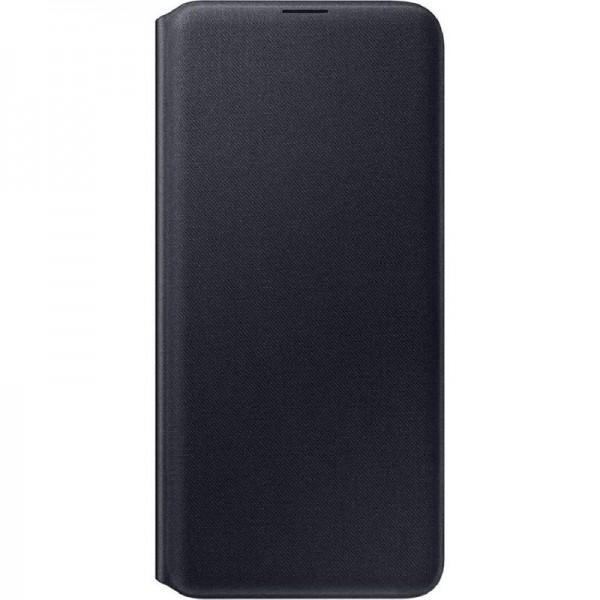 Original Samsung Wallet Cover EF-WA307 für Galaxy A30s, Black