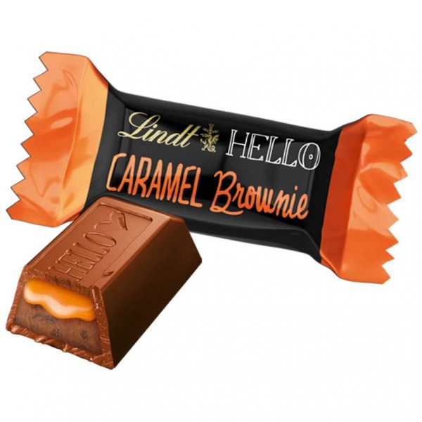 Lindt Hello Caramel Brownie Mini Sticks 1000g