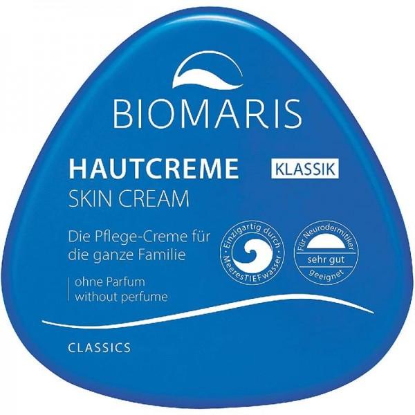 Biomaris Hautcreme Klassik, 250 ml ohne Parfum, Pflege für de ganze Familie