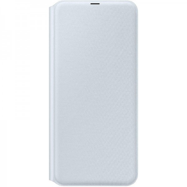 Original Samsung Wallet Cover (EF-WA705) für Galaxy A70, Weiß