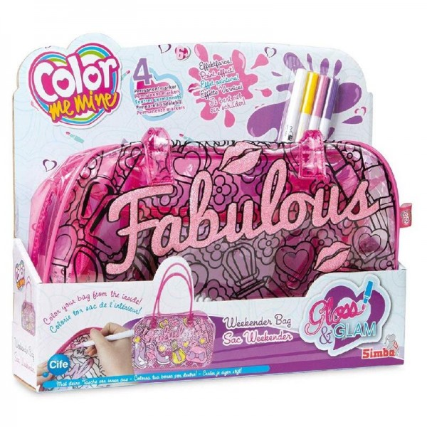Smoby, Color Me Mine Tasche Zum Selbstbemalen, 531776
