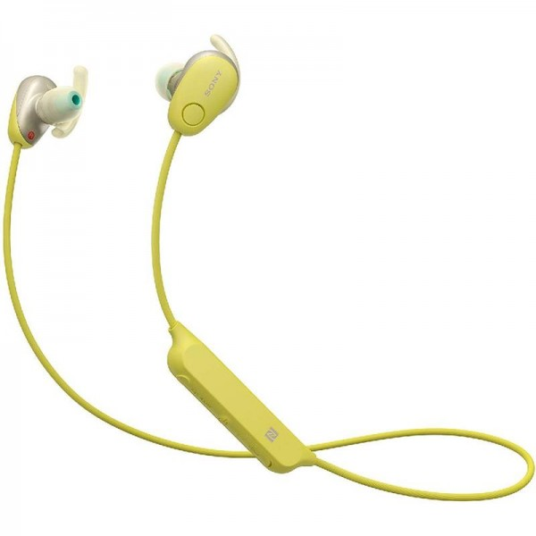 Sony WI-SP600N Sport Kopfhörer (Kabellos, Noise Cancelling) gelb