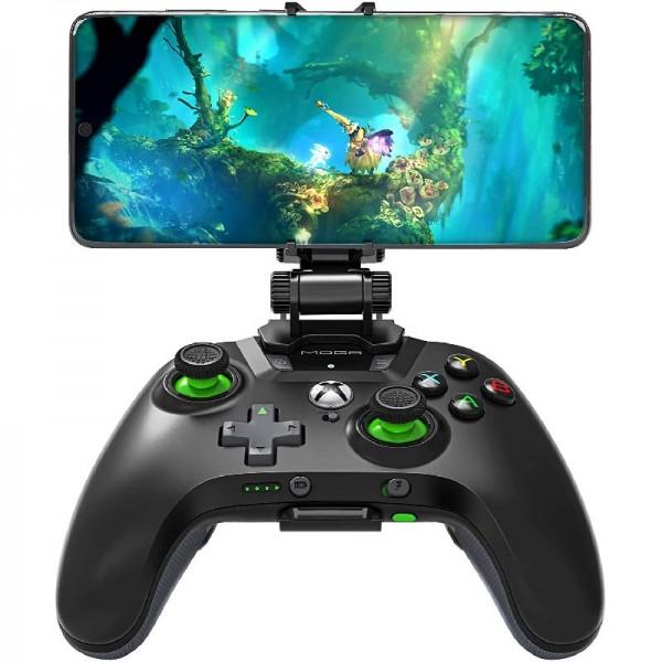 Gamepad MOGA XP5-X+ Controller, Bluetooth-Konnektivität, wiederaufladbarer Akku, über 100 Xbox Spiel