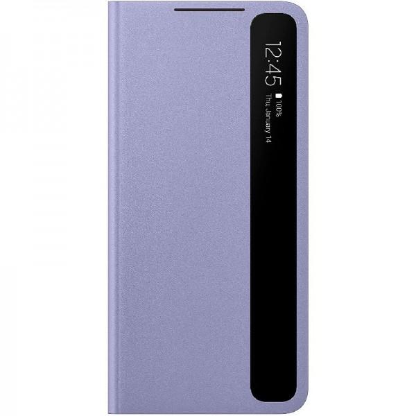 Original Samsung Clear View Cover EF-ZG996 für Galaxy S21+ 5G, Violet
