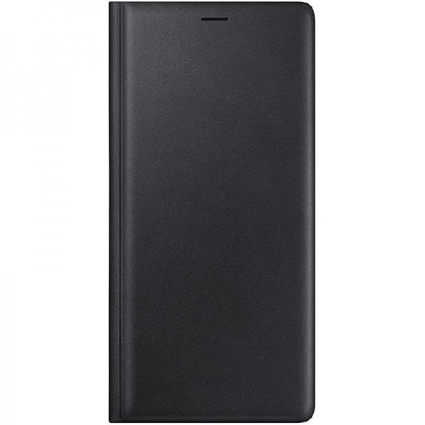 Original Samsung Echtleder BookHülle 'EF-WN960' für Galaxy Note9, Schwarz