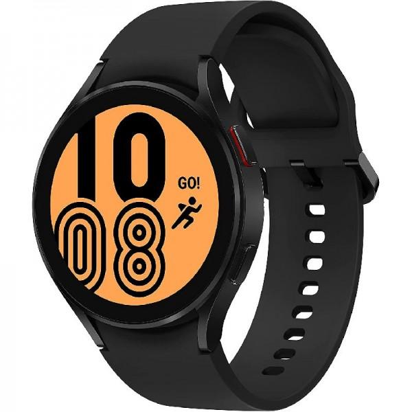 Samsung Galaxy Watch4, Runde LTE Smartwatch, Wear OS, Fitnessuhr, 40 mm, Black