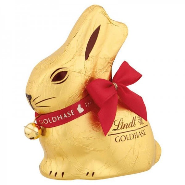 Lindt Goldhase aus Alpenvollmilch Schokolade 50g