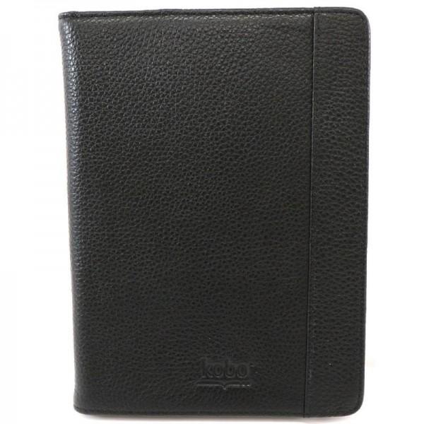 Kobo eReader Case Schwarz/Leder Schwarz/Rot Touch Edition
