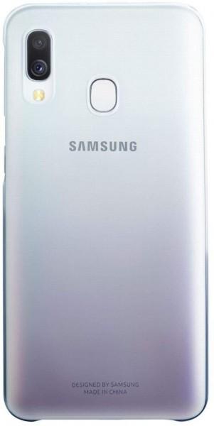 Original Samsung Galaxy A40 Gradation Cover Case EF-AA405 Hülle schwarz