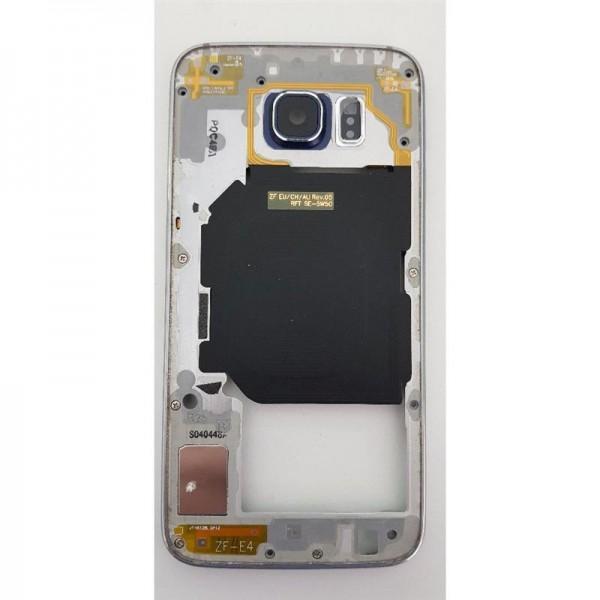 Original Samsung Galaxy S6 SM-G920F Mittelrahmen Rahmen Middle Frame Cover Black