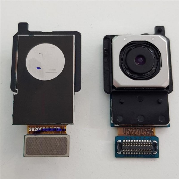 Haupt Kamera Einheit Rückseite für Samsung Galaxy S6 G920F Hinten Camera Flex