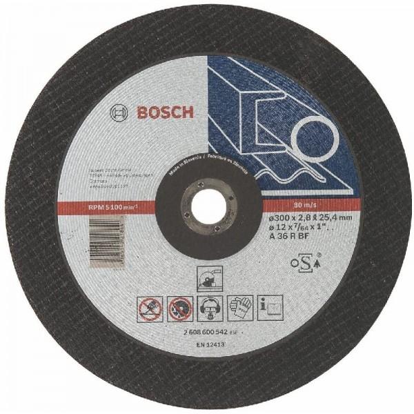 Bosch 2608600542 Trennscheibe 300x2,8mm, Metall A 36 R BF