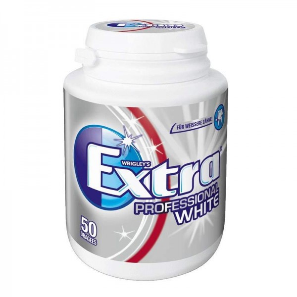 Wrigley's Extra Professional White Dose, 1x50 Dragees