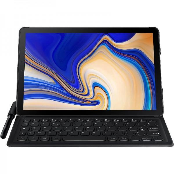 Samsung Tablettasche mit QWERTZ-Tastatur und Pen-Halter Galaxy Tab S4 Schwarz