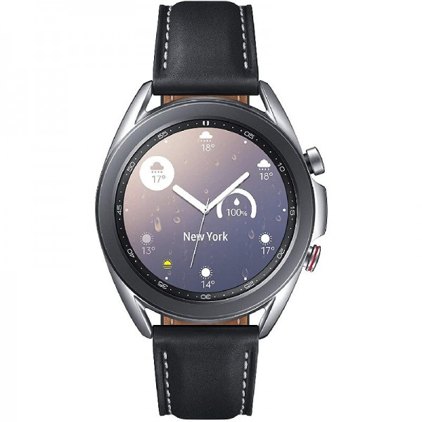 Samsung Galaxy Watch 3 (LTE) 41mm - Smartwatch Mystic Silver