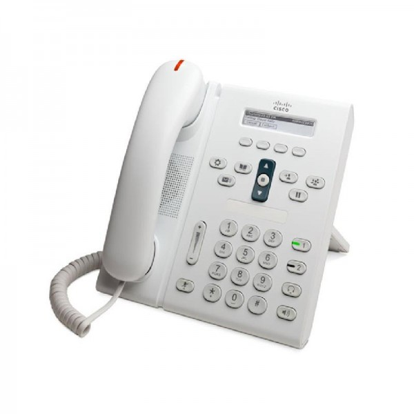 Cisco 6921 Unified IP Phone Slimline Weiß