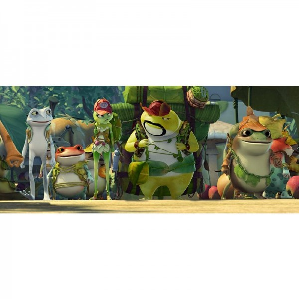 Freddy Frog - Ein ganz normaler Held (inkl. 2D-Version) [3D Blu-ray]