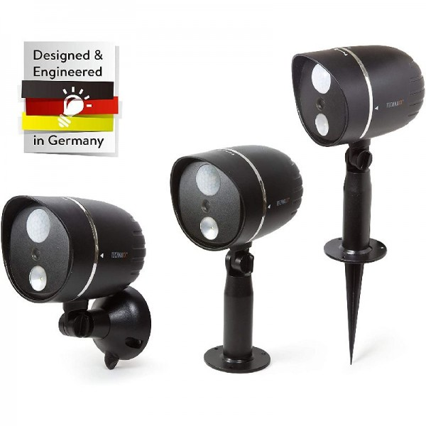 Technaxx Outdoor HD Kamera mit TX-106 LED Lampe schwarz