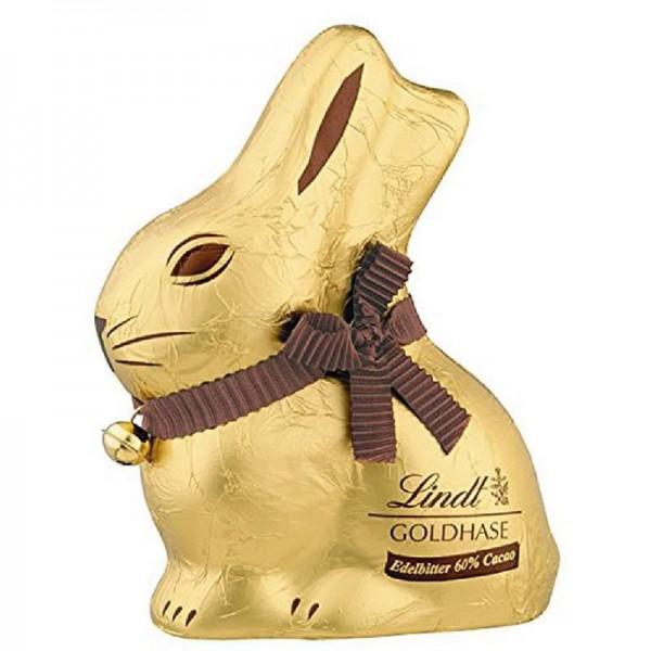 Lindt Goldhase 60 % Edelbitter Schokolade 100g
