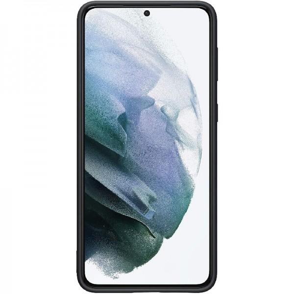 Original Samsung Silicone Cover EF-PG996 für Galaxy S21+ 5G, Black