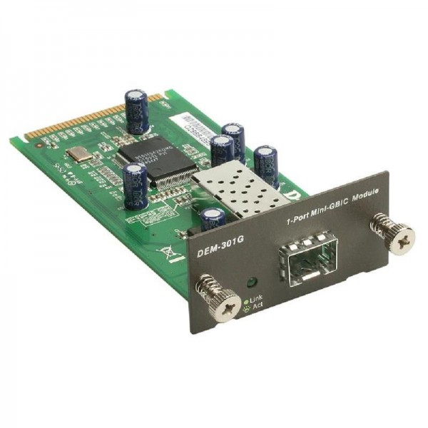 D-Link DEM-301G Uplink,Switch Modul 1P 1000B-T SFP DES-3018/DES-3026
