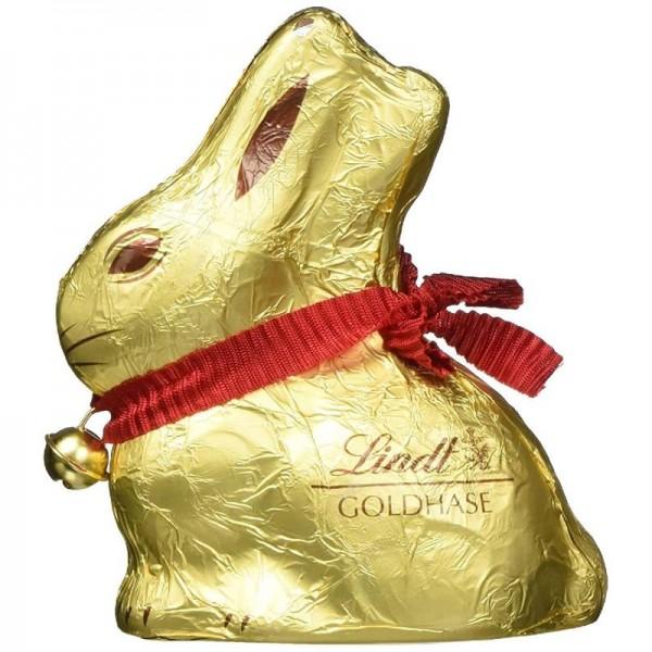 Lindt Goldhase aus feiner und leckerer Vollmilch Schokolade 100g