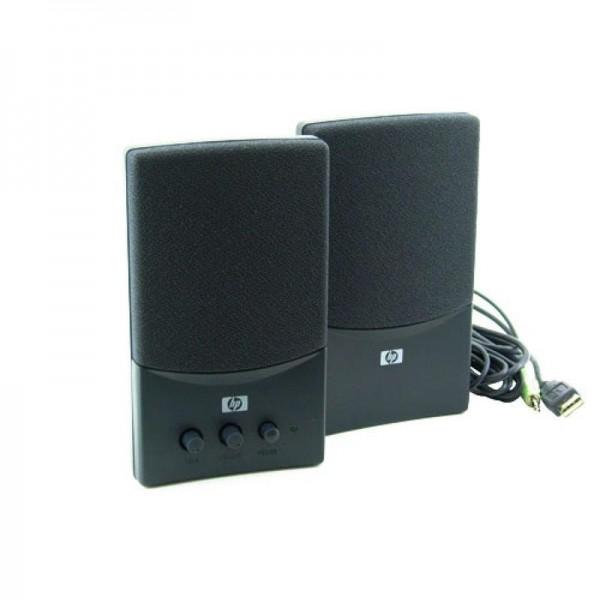 HP Pavilion Desktop Speaker System 5069-6296 B Hewlett Packard USB / Audio Jack