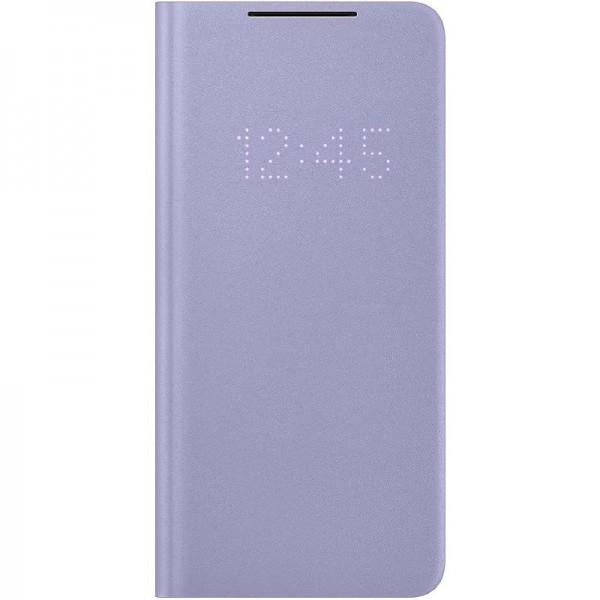 Original Samsung LED View Cover EF-NG996 für Galaxy S21+ 5G, Violet