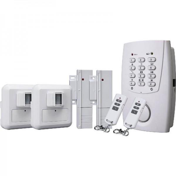 Smartwares Drahtloses Alarmsystem mit Telefonwählgerät, HA32S_SW