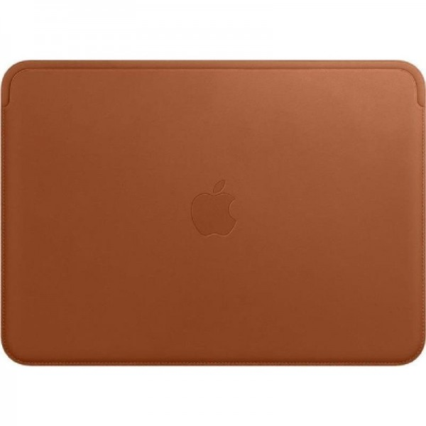 Apple Lederhülle, MQG12ZM/A , Sleeve, MacBook, Sattelbraun