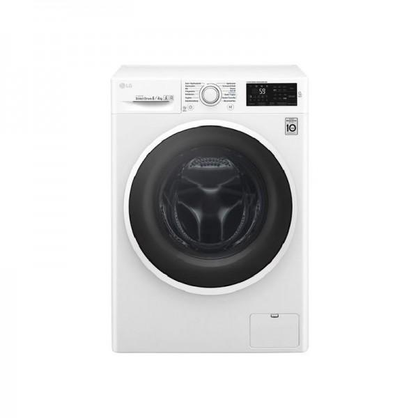 LG Waschtrockner Serie 5, 8 kg Waschen 4 kg Trocknen, F14WD84EN0, EEK A