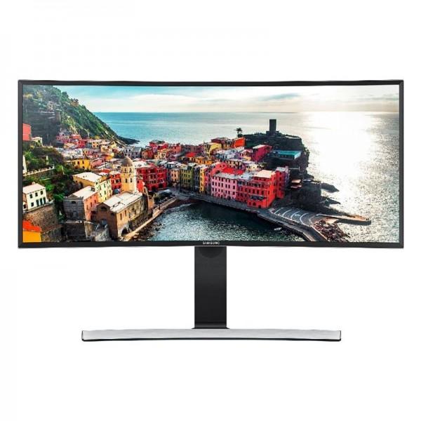 Samsung S34E790C 86,36 cm (34 Zoll) Curved Monitor (HDMI, USB, DisplayPort, 4ms Reaktionszeit, 3440