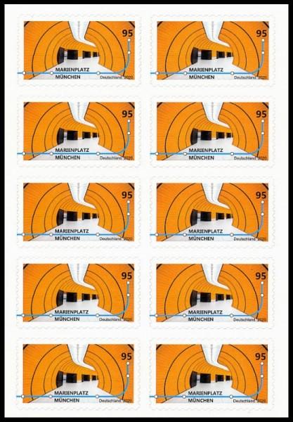 Markenset 10x0,95€ Briefmarken