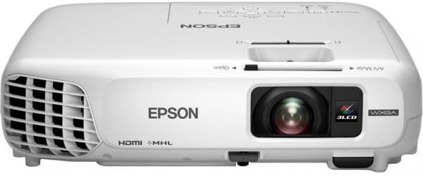 Epson EB-W28 LCD-Business Projektor (10000:1,1280 x 800 Pixel, 3000 ANSI Lumen)