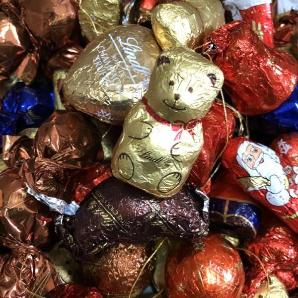 Lindt Weinachts Mix Lindt Schokoladen Mix 1000 Gramm verschiede Sorten