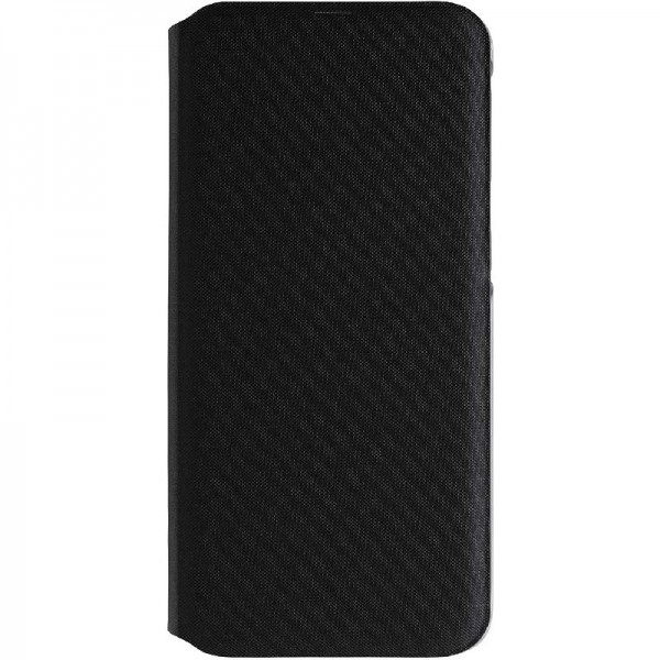 Original Samsung Wallet Cover (Ef-WA405) für Galaxy A40, Schwarz