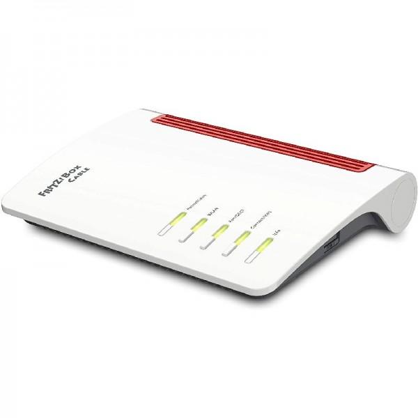 AVM FRITZ!Box 6660 Cable Kabelmodem DOCSIS-3.1 WLAN AX Wi-Fi 6 2,5 GB-LAN-Port