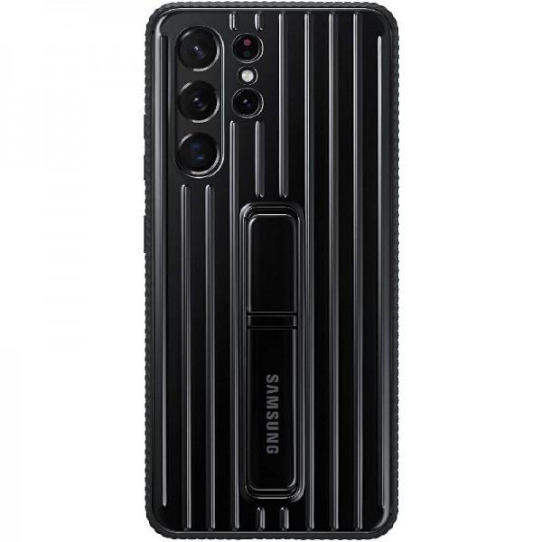Original Samsung Protective Standing Cover EF-RG998 Galaxy S21 Ultra 5G Black