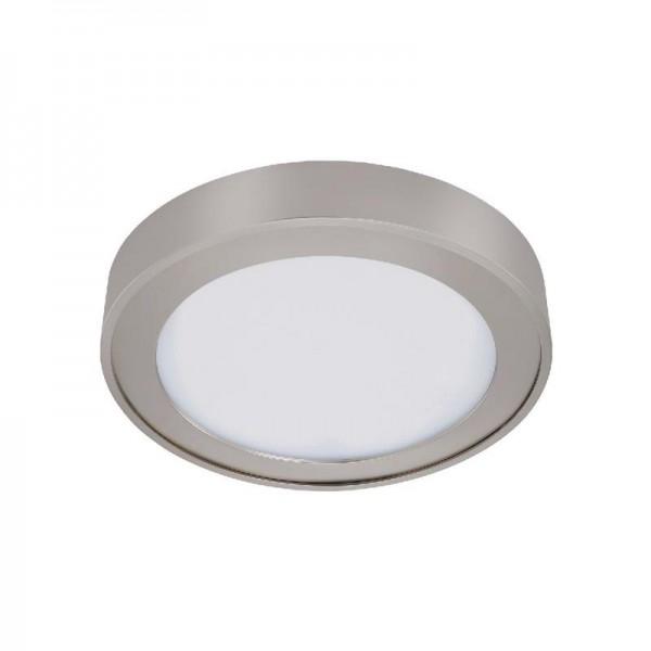 Briloner LED-Einbauleuchte Nickel matt H: 3,6 cm Ø: 20 cm EEK: A+