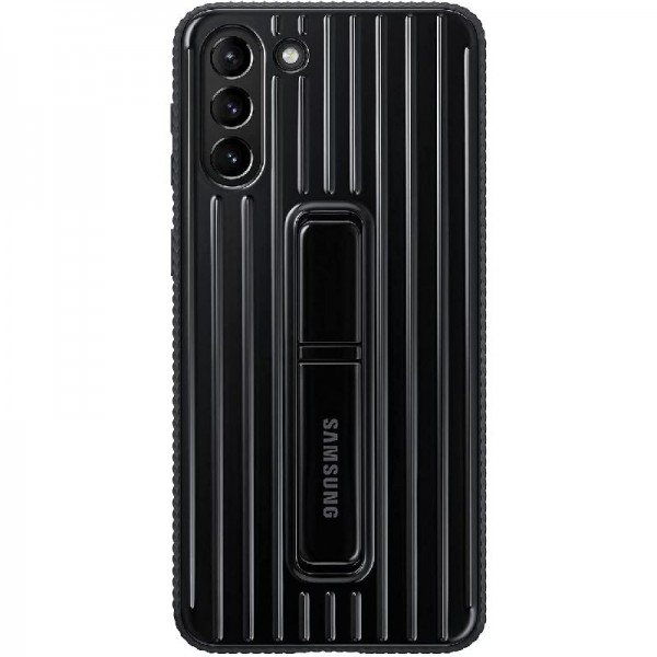 Original Samsung Protective Standing Cover EF-RG996 für Galaxy S21+ 5G, Black