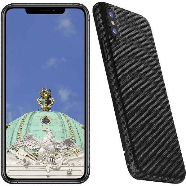 100 % Real Carbon Hülle für iPhone X und XS *Made in Germany* Magnetic