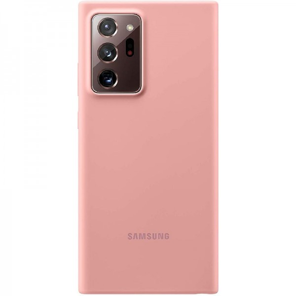 Original Samsung Silicone Smartphone Cover PN985 für Galaxy Note20 Ultra, bronze