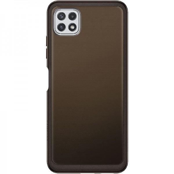 Original Samsung Soft Clear Cover EF-QA226 für das Galaxy A22 5G, Black