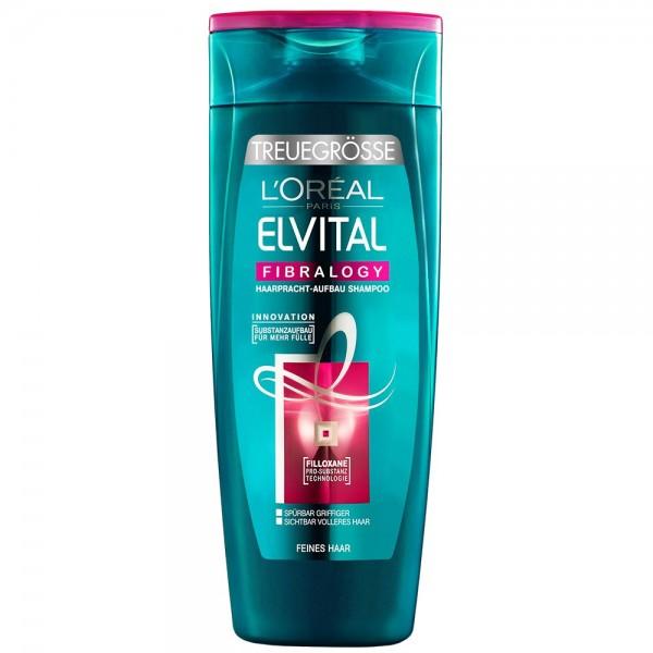 L'Oréal Paris Elvital Fibralogy Shampoo, 1er Pack (1 x 400 ml)