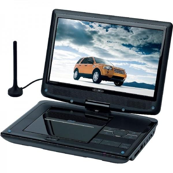 Reflexion DVD1010, 10 Zoll Portabler DVD-Player ( incl. 12-Volt-Adapter ) USB,SD
