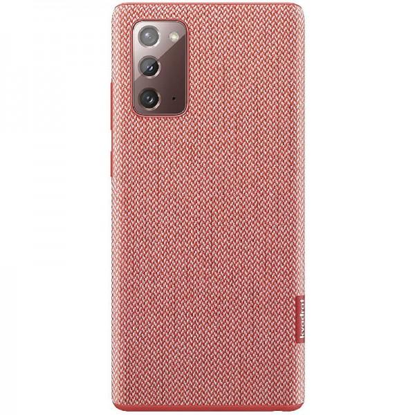 Original Samsung kvadrat Cover Smartphone Cover EF-XN980 für Galaxy Note20 Hülle